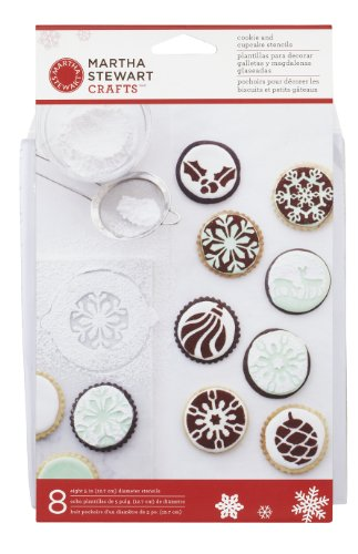 rtha Stewart Holiday Cupcake Cookie Schablonen ()