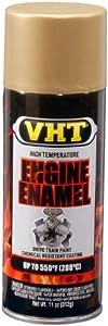 Vht Flat Gold Engine Enamel Paint Sp132 by VHT