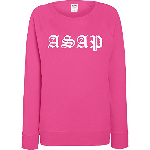 TRVPPY - Pull - À logo - Manches Longues - Femme rose bonbon