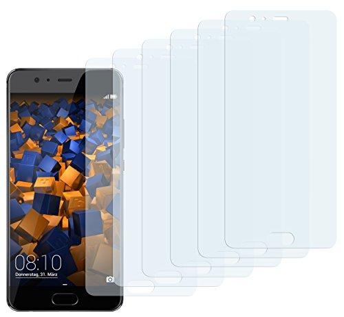 mumbi Schutzfolie kompatibel mit Huawei P10 Plus Folie klar, Bildschirmschutzfolie (6x)