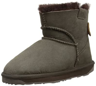 Emu Womens Alba Mini Mini Boots W10835 Chocolate 7 UK, 41 EU, 9 US, Regular
