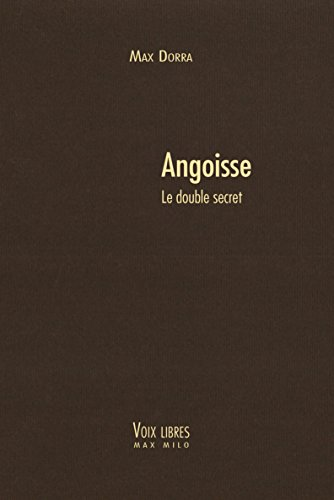 Angoisse: Le double secret - Voies Libres (Voix libres)