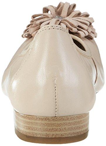 Caprice Damen 22158 Geschlossene Ballerinas Beige (BEIGE NAP COMB)