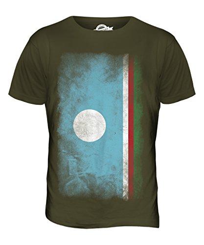 CandyMix Sacha Verblichen Flagge Herren T Shirt Khaki Grün