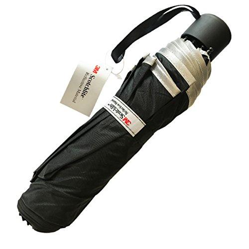 Salzmann 3m ombrello riflettente | ombrello ad alta visibilità, anti-uv | realizzato con 3m scotchlite | 3 colori