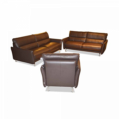 w schillig garnitur heart 2 sofas 1 sessel ausstellungsst ck. Black Bedroom Furniture Sets. Home Design Ideas