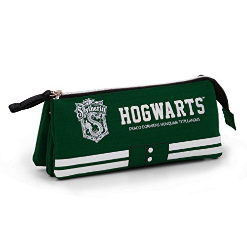 Karactermania harry potter astuccio, 24 cm, verde