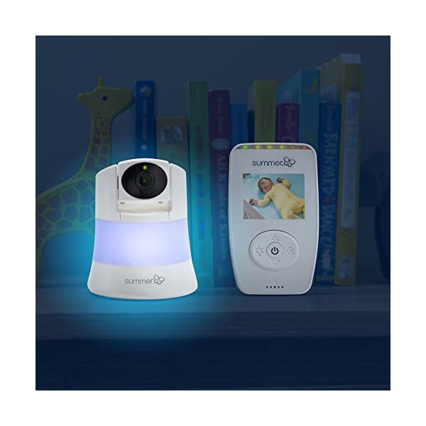 Summer Infant Sure Sight Number 2.0 Digital Video Monitor  100% digital technology for privacy and security Range up to 240m Nursery temperature display on screen 9