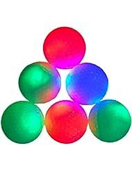15Noche brillan en la oscuridad Las Bolas De Led Night Flyer de golf (Varios colores)