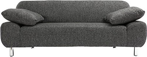 FabHomeDecor Babushka Three Seater Sofa cum Bed (Grey)