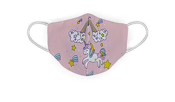 Housse pour enfant licorne et arc-en-ciel DARK DIAMOND Double couche hygi/énique Taille enfant lavable et r/éutilisable