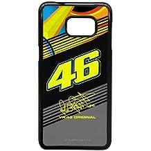 Samsung Galaxy S6 Edge Plus Custom Case Cover black Valentino Rossi VR 46 Cell Phone Case 7W7-092669