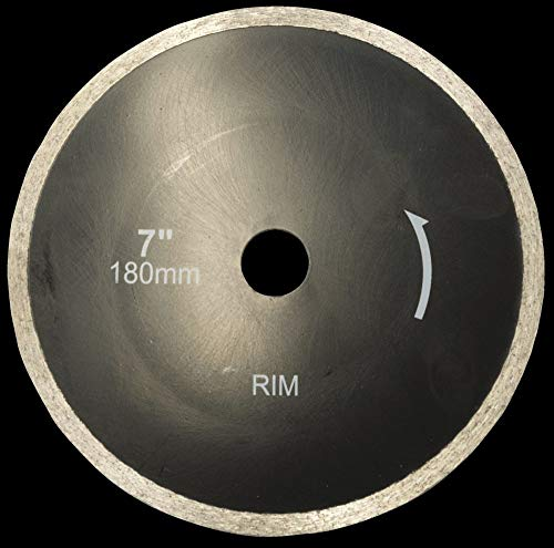 Scheppach 3906705050 Zubehör/Diamanttrennscheibe, passend für den FS850 Fliesenschneider, schneidet Fliesen, Marmor, Schiefer, Durchmesser 180 x 22,2 mm
