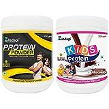 Zindagi Protein Powder For Adult & Kids Protein Powder For Kids - Whey Protein Powder (Combo Pack)