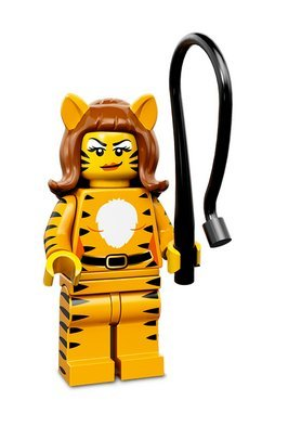 Lego Series 14 Minifigures 71010 (Lego Series 14 Tiger Lady)
