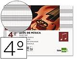 BLOC MUSICA LIDERPAPEL PENTAGRAMA PAUTADO 2