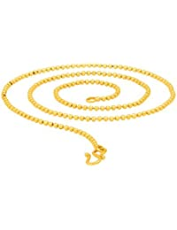 BFC-Traditional Ethnic One Gram Gold Plated Short Chain 18 Inches For Woman And Girls