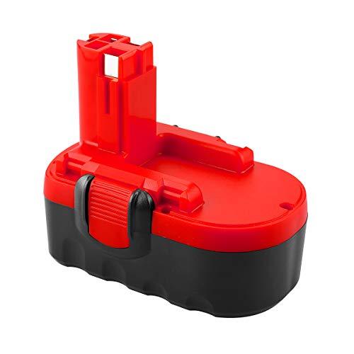 POWER-XWT 18V 3,0Ah Ni-MH Batterie pour Bosch BAT025 BAT025 BAT160 BAT180 BAT181 BAT189 BAT299 18V Batterie