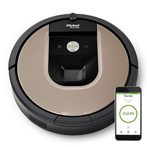 iRobot Roomba 966, Negro, Plata