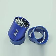 Zantec Inyección universal de aire Turbocompresor doble Ahorro de combustible de turbo Ahorro de gas Tubo