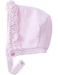 EOZY Baby Mädchen Häubchen aus 100% Baumwolle Pink