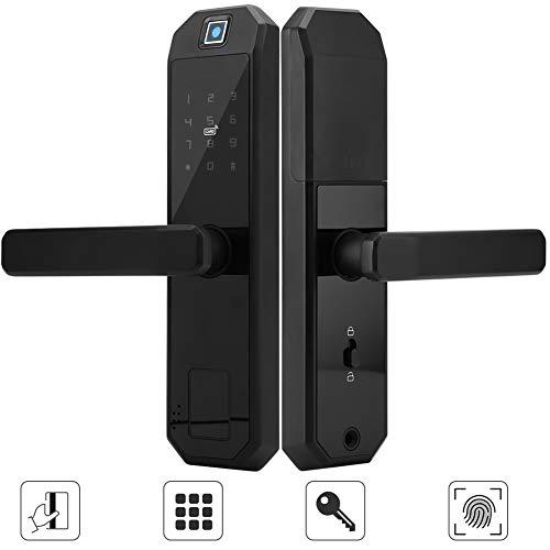 Cerradura de puerta biométrica de la huella dactilar, cerradura de pu