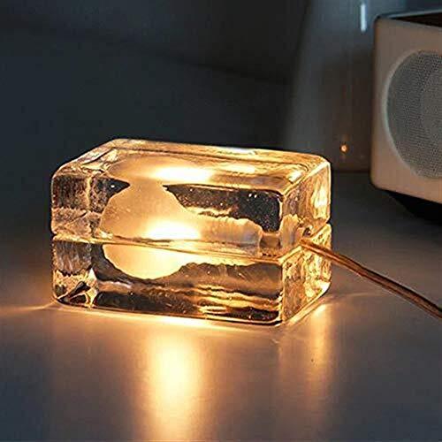 WEN Moderne Einfaches Festes Glas EIS Lampe LED-Lampe Brikett