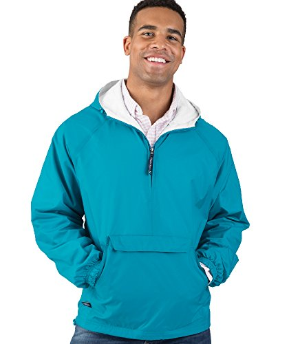 Charles River Apparel - Veste coupe-vent - Solid - Manches Longues Homme Bleu Marine