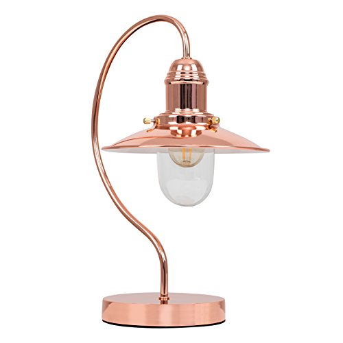 Rose Gold Table Lamp Amazon Co Uk