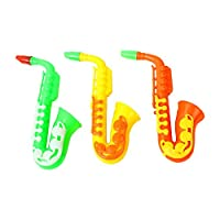 Monbedos 1 Pcs Childrens Horn Saxophone Toys Sports Game Party Cheers Toys for Kids