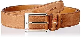 Tommy Hilfiger Hamburg Brown Leather Men's Belt (TH/FW13/AMERICAN/HAMBURG/BRN/NON-REV/L)