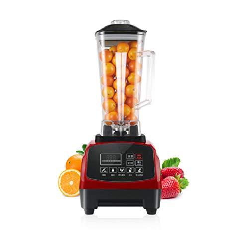 WFF Sojamilchmaschine, LED-Touchscreen kommerzielle gebrochene Maschine Juicer, die Eismaschine kocht,rot,cm
