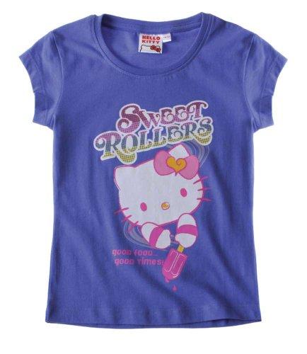 Hello Kitty Doppelpack T-Shirt weiß ()