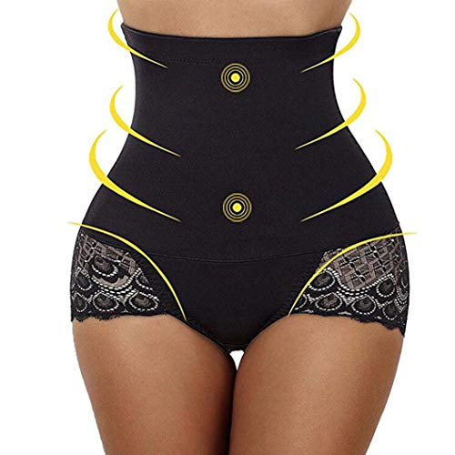 ESAILQ Women Body Shaper Shapewear Underwear Control Tummy Slim Corset High Waist Lace