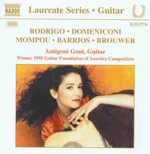 Werke von Rodrigo, Domeniconi, Mompou, Barrios und Brouwer