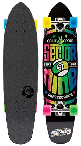 Sector 9 THE wedge Longboard 2016 - Colour negro