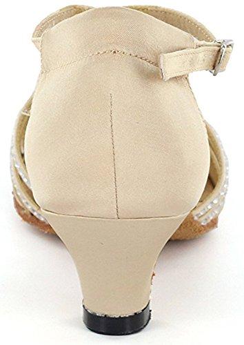 TDA - Cinturino a T donna 5cm Heel Beige
