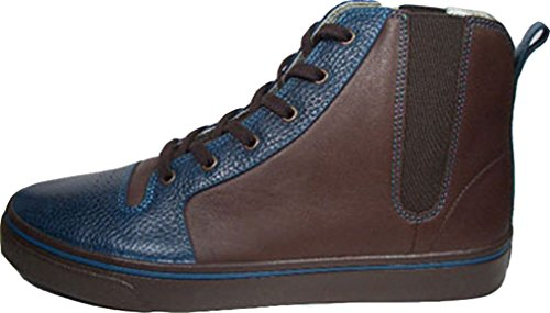 Creative Recreation Ponti Mid Select, Blu Marrone, Materiale esterno e interno in pelle, taglia 42/US 9/UK 8/27 cm