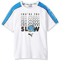 Puma Boy's X Sega T-Shirt, White 02, 164 cm