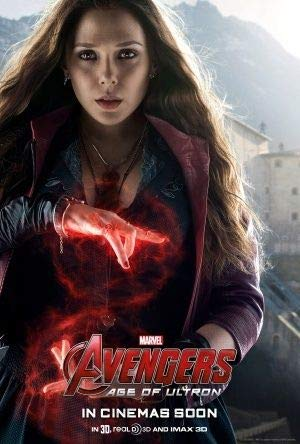 THE AVENGERS : AGE OF ULTRON - Scarlet Witch - US Imported Movie Wall Poster Print - 30CM X 43CM Brand New