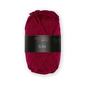 Pro lana laine elba 50gr. 31, couleur rouge