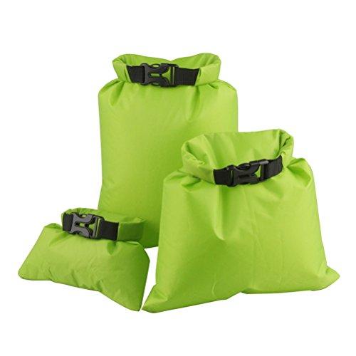 UEETEK 3pcs 1,5 L + 2,5 L + 3,5 L bolsa seca impermeable