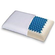 Cuscino Blue2Air in MyMemory Memory Foam Termosensibile Altamente Traspirante - 100% Made in italy - Fodera Cotone Naturale