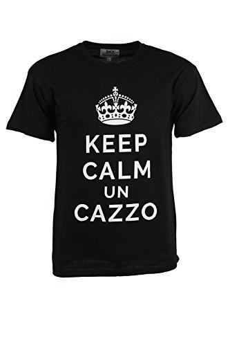 T-Shirt funny Humo nera Nero