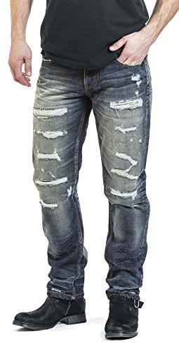 Black Premium by EMP Destroyed Marc Jeans blau Blau
