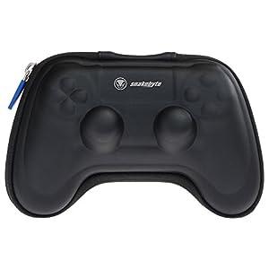 snakebyte PS4 game:kit zur Aufbewahrung des Dualshock 4 Controller – inkl. 4 Control Caps & 3m USB Ladekabel (Meshcable)