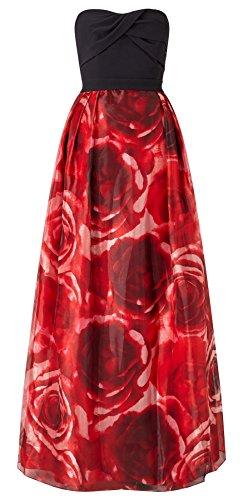 Echo Rose Print Maxi Dress