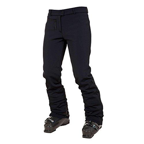 Rossignol W Diamante Nero-XL-Pantaloni softshell da sci Softshell Impermeabile Traspirante e elasticizzato pantaloni