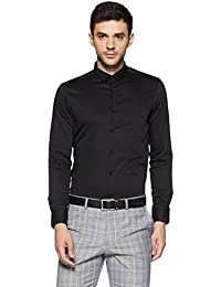 US Polo Association Men's Checkered Slim Fit Cotton Formal Shirt