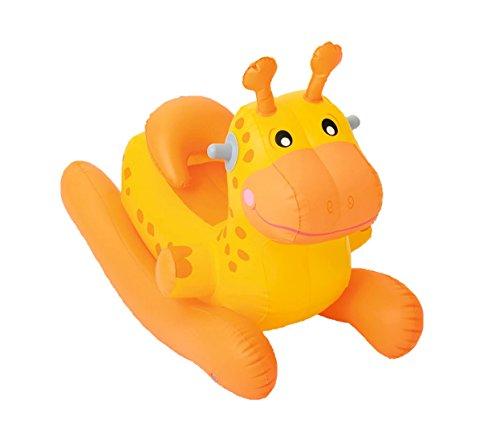 Bestway® Schaukeltier Baby Animal Rocker, 74x43x63cm, Orange